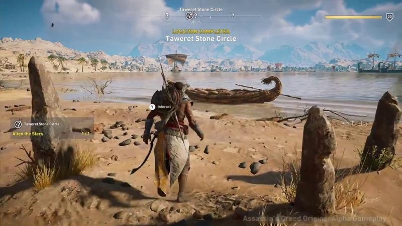 Test Assassin's Creed Origins sur PS4