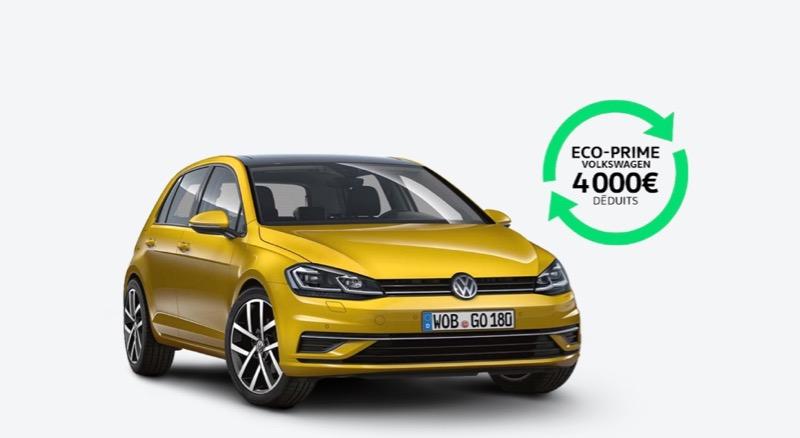 Ecoprime Volkswagen : jusqu'à 10000 € de reprise pour un diesel