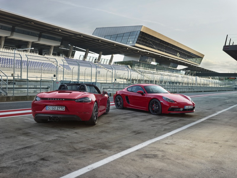 Porsche 718 Boxster et 718 Cayman GTS