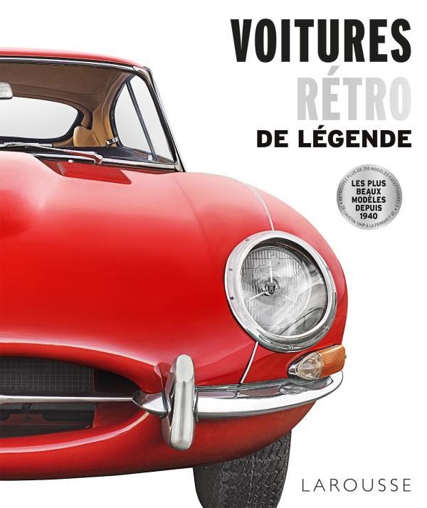 Livre : Voitures rétro de légende