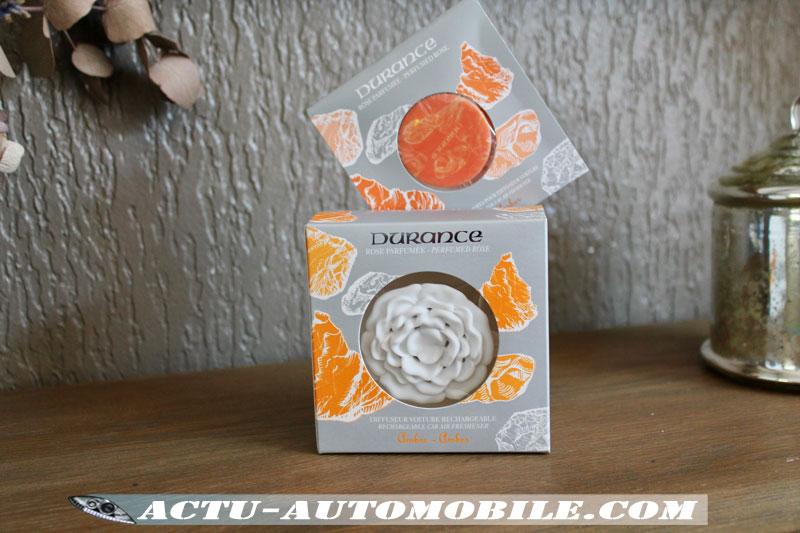 Rose parfumée diffuseur voiture - Durance