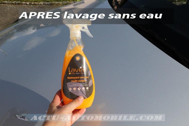 Test nettoyant sans eau multi-usages Lavéo