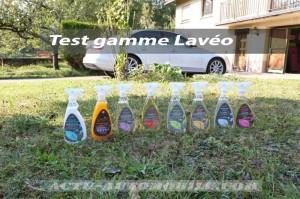 Test produits de lavage sans eau Laveo