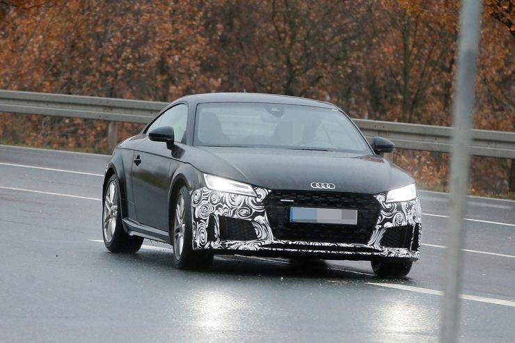 Audi TT 2018 : déjà le restyling- Actu automobile