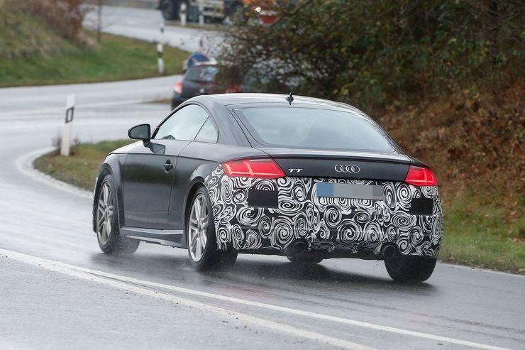 Audi TT 2018 : déjà le restyling