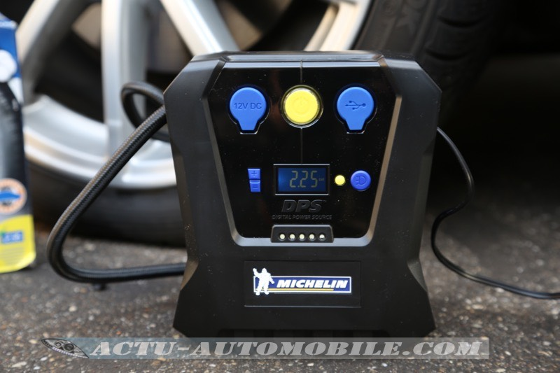 Test Compresseur programmable Michelin