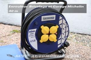 Enrouleur bricolage et garage 40 m par Michelin