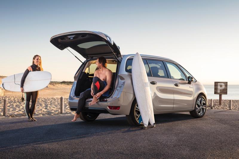 Légende Citroën Grand C4 Picasso Rip Curl