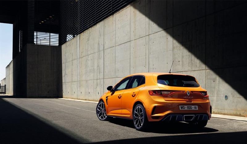 nouvelle Renault Mégane R.S 2018
