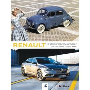 Livre : Renault un siècle de création automobile