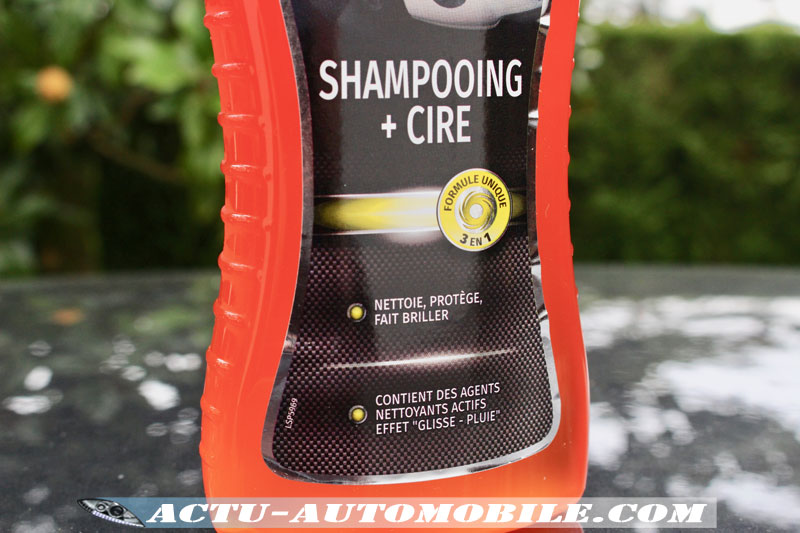 Shampooing + Cire (3 en 1) Holts
