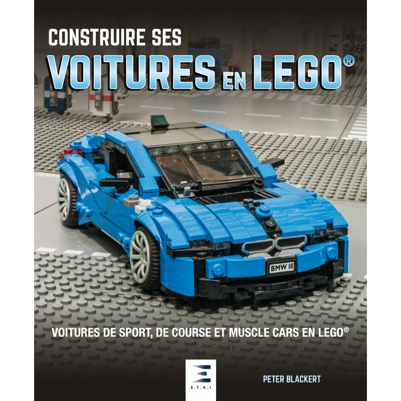 livre construire ses voitures en lego actu automobile. Black Bedroom Furniture Sets. Home Design Ideas
