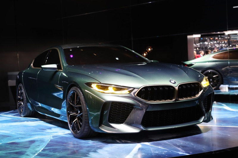 gen ve 2018 bmw concept m8 gran coup actu automobile. Black Bedroom Furniture Sets. Home Design Ideas