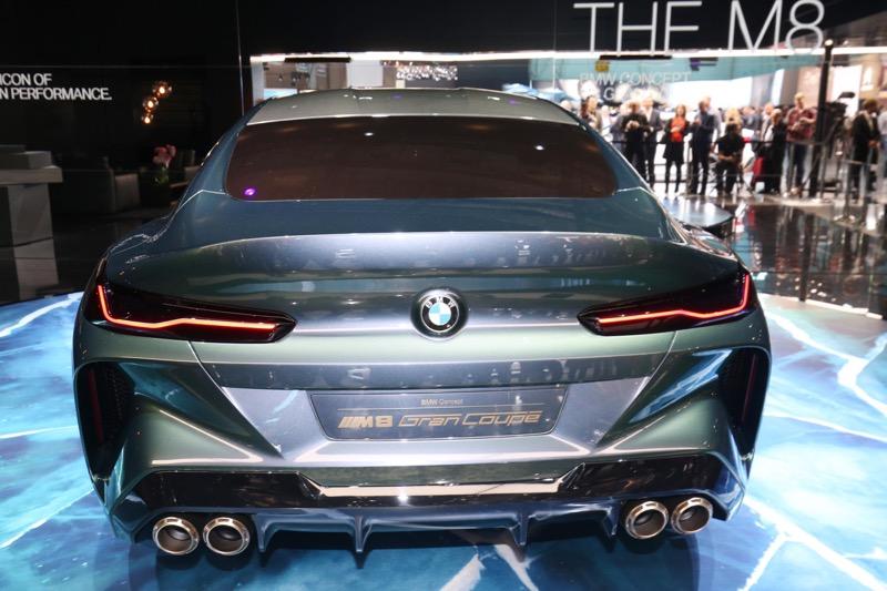 Genève 2018 : BMW Concept M8 Gran Coupé