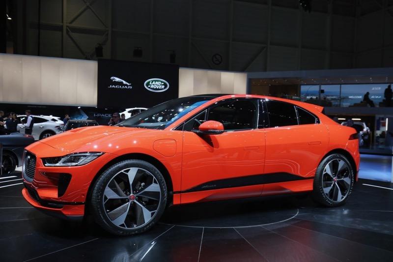 Le Jaguar I-Pace au Salon de Genève 2018