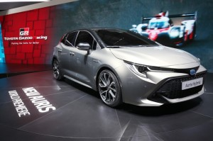 La nouvelle Toyota Auris au salon de Genève 2018