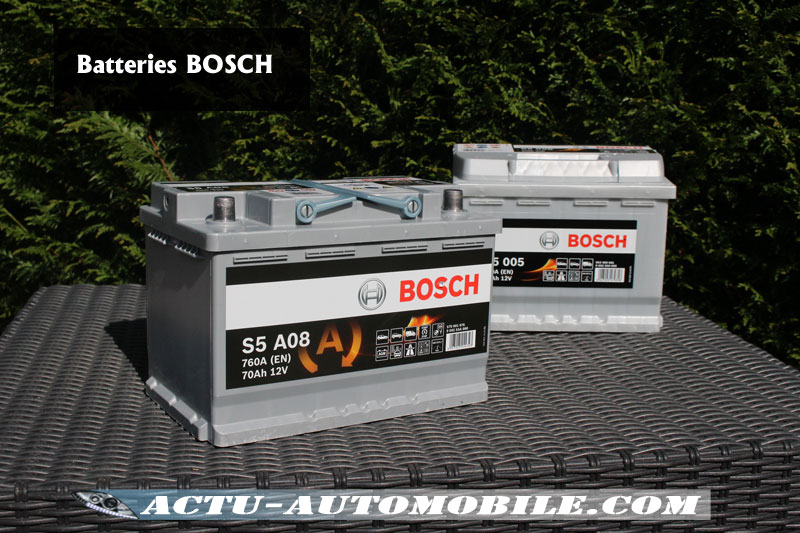 batteries auto comment choisir avec bosch actu automobile. Black Bedroom Furniture Sets. Home Design Ideas