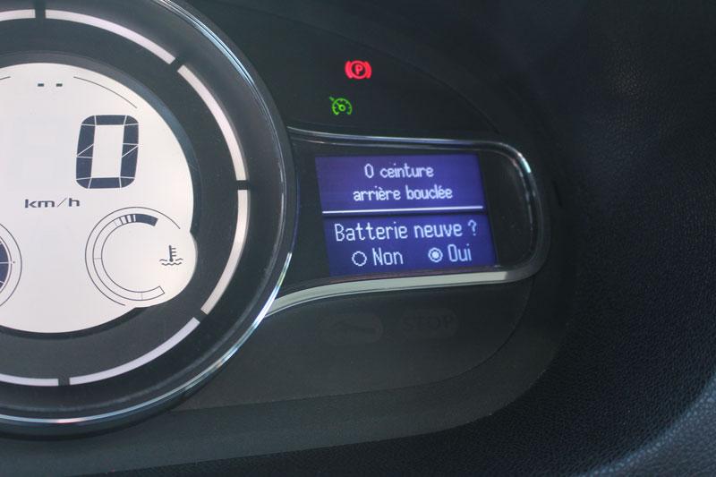 Configuration & paramètrage de la nouvelle Batterie