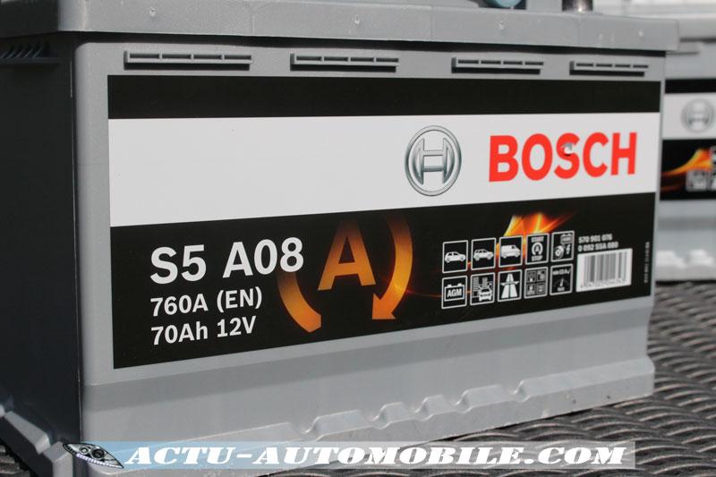 Batterie Bosch compatible au système Stop & Start