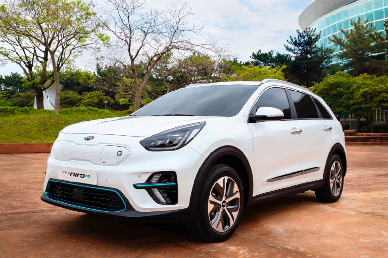 kia niro lectrique ev 450 km d 39 autonomie. Black Bedroom Furniture Sets. Home Design Ideas