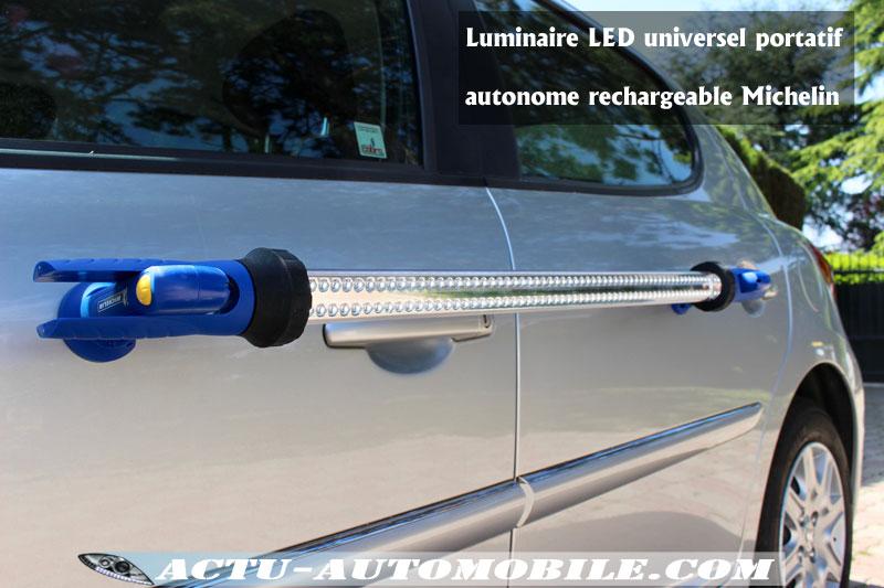 Luminaire LED universel portatif autonome rechargeable Michelin