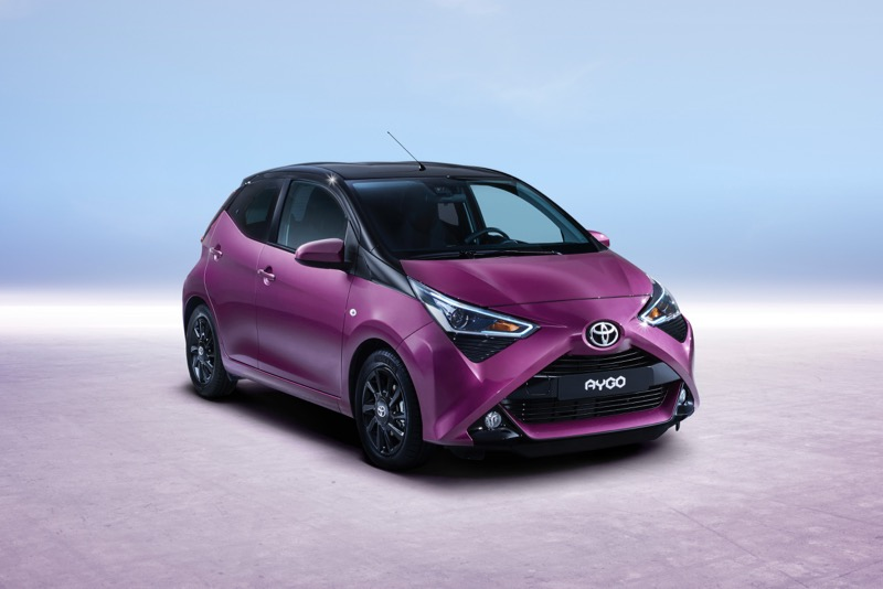 Toyota Aygo restylée
