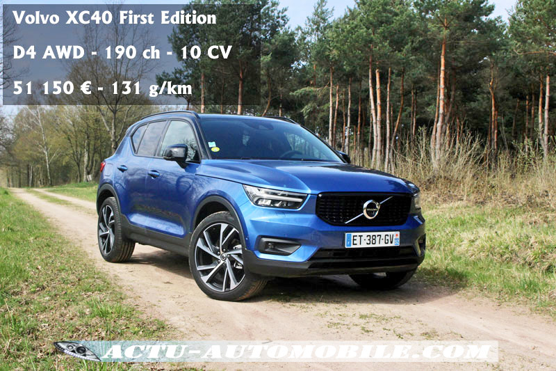 essai volvo xc40 d4 awd first edition. Black Bedroom Furniture Sets. Home Design Ideas