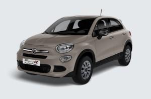 Fiat 500 X : 149 euros par mois avec apport de 1900 euros - LLD 37 mois = 200 euros X 37 mois