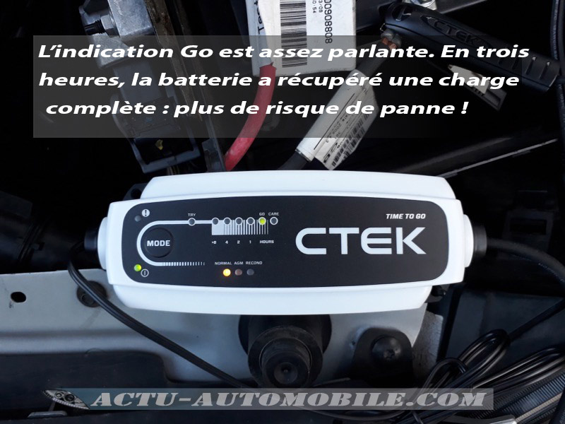 Chargeur de batterie CTEK Time to Go