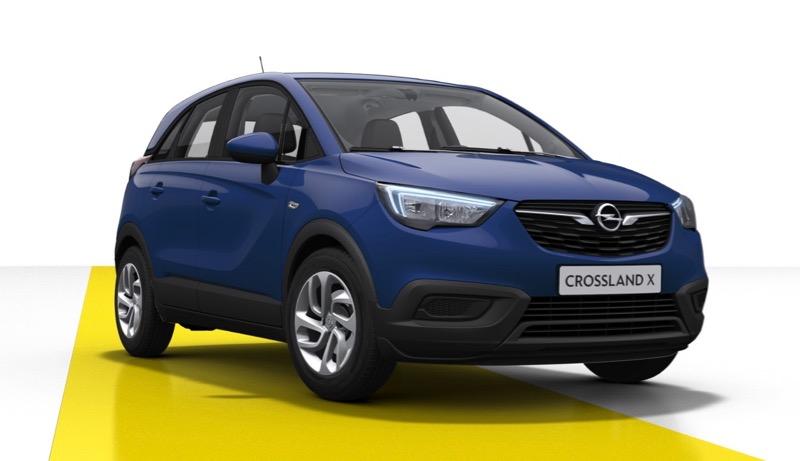 Opel Crossland X : 139 € par mois + apport de 2850 euros = 212 euros X 37 mois - Sous Conditions de reprise