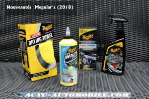 Nouvelle gamme produits Meguiar's 2018