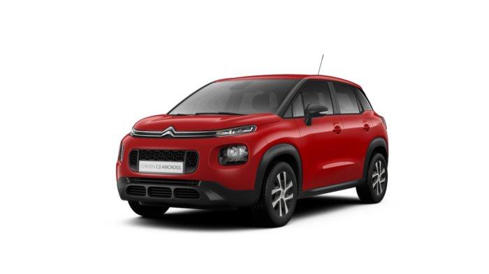 Citroën C3 Aicross : 159 € / mois + apport de 2200 € = 215,69 € X 36 mois