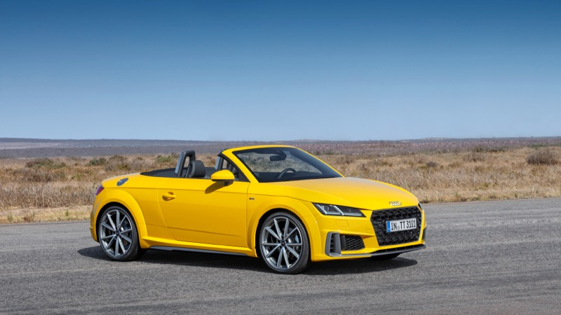 audi tt coup et roadster 2018 le restyling actu automobile. Black Bedroom Furniture Sets. Home Design Ideas