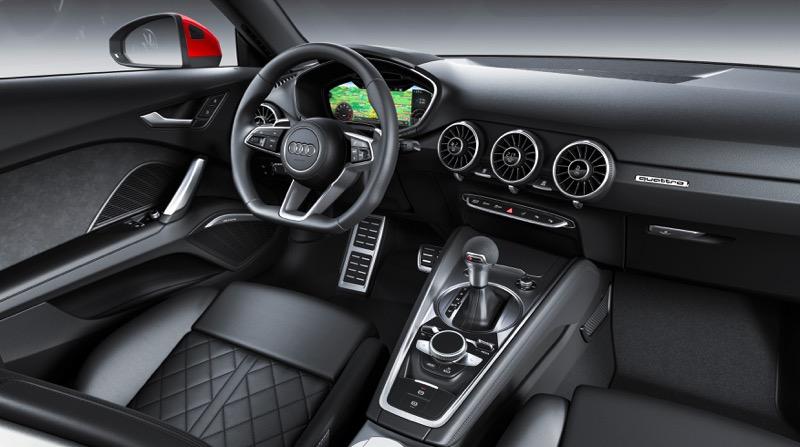 Audi TT coupé et roadster 2018 : le restyling