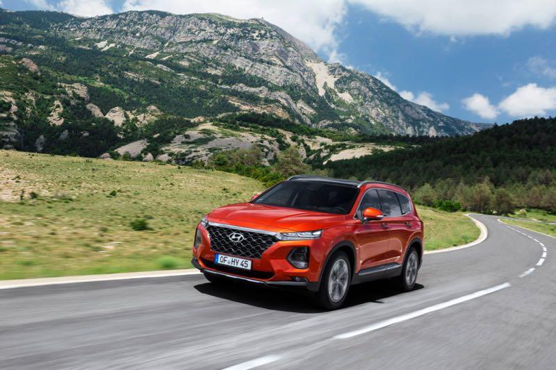 Nouveau Hyundai Santa Fe