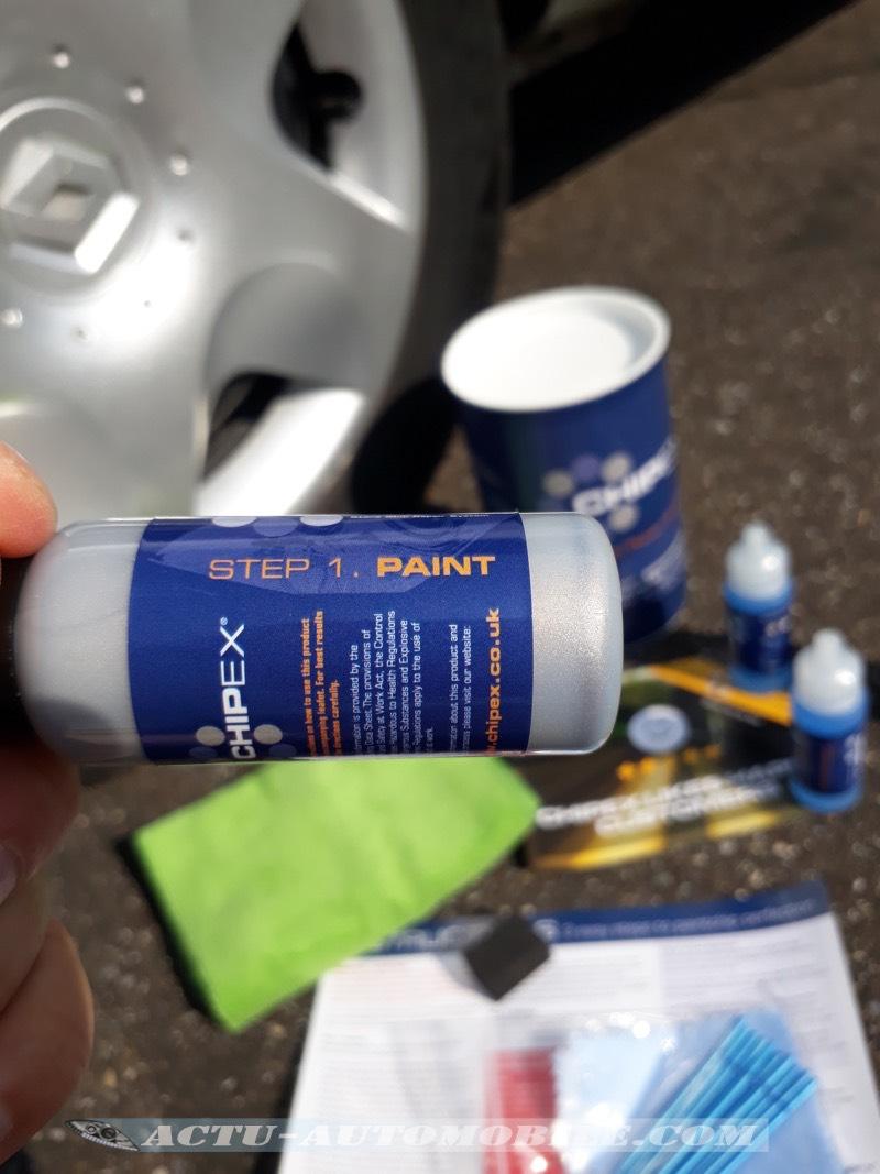 Test Kit de retouche peinture Chipex