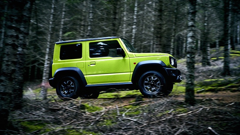 le nouveau suzuki jimny 2019 old school actu automobile. Black Bedroom Furniture Sets. Home Design Ideas