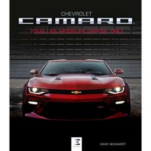 Livre : Chevrolet Camaro tous les modèles depuis 1967