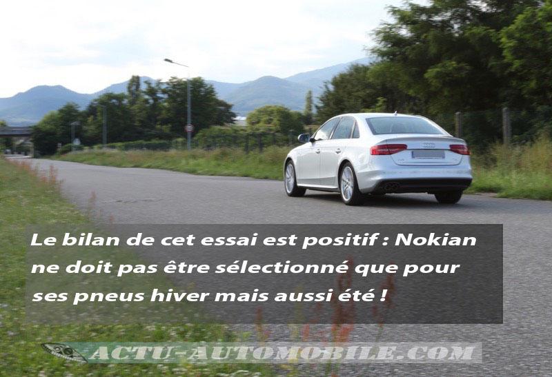 Essai pneumatique Nokian ZLine