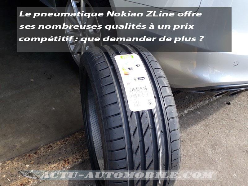 Essai pneu Nokian ZLine