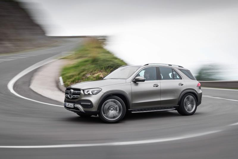 Nouveau Mercedes GLE