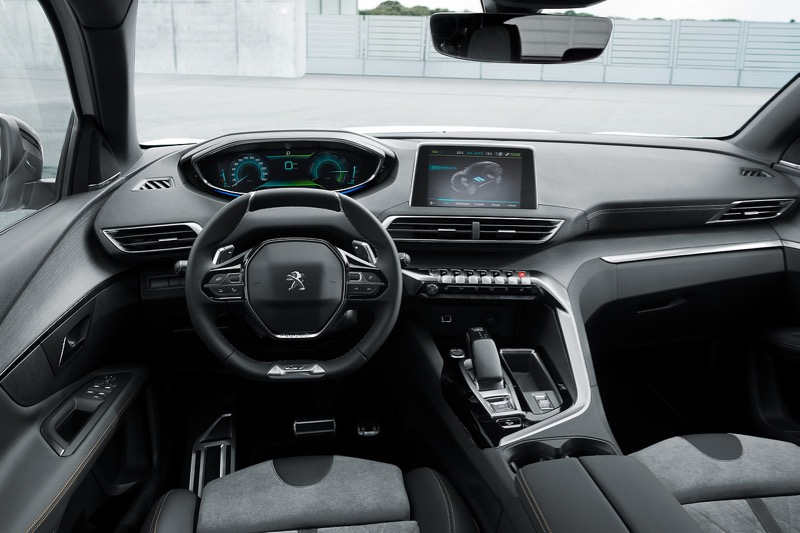 Nouveau Peugeot 3008 HYBRID4