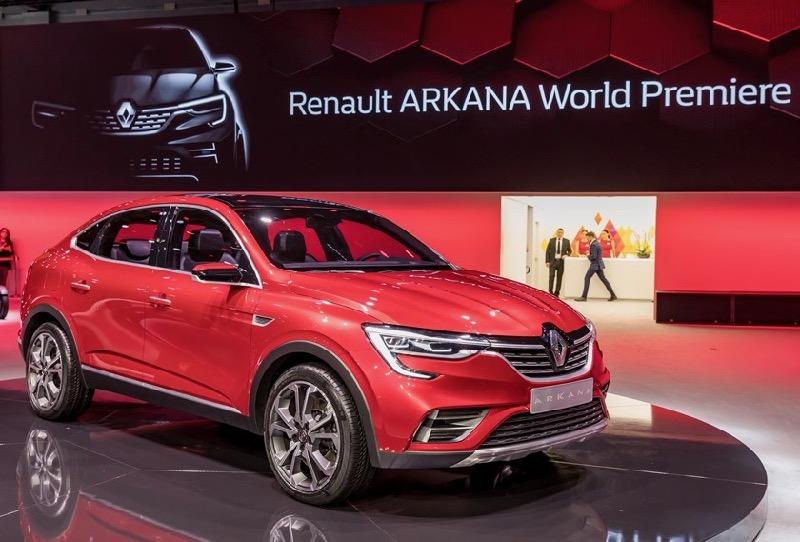 SUV coupé Renault Arkana