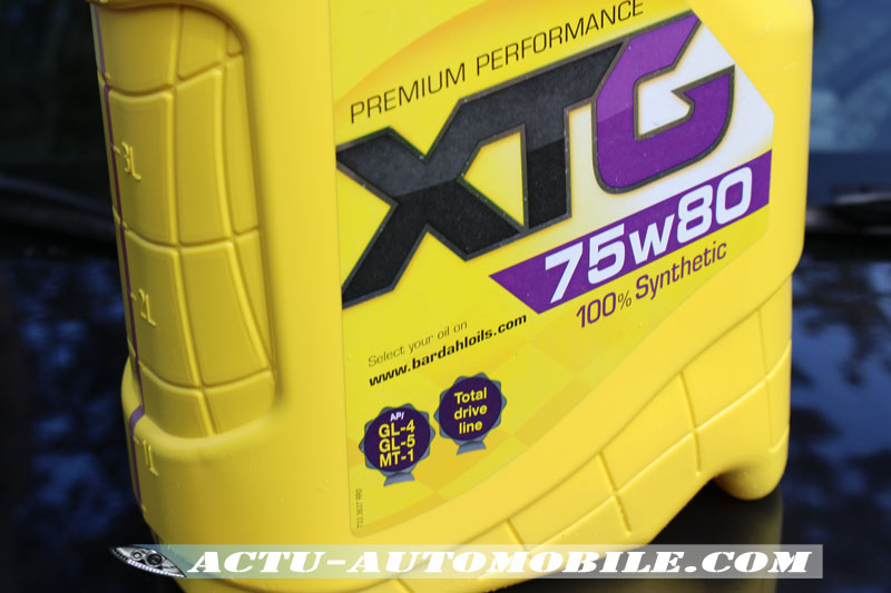 Huile XTG75w80 Bardahl