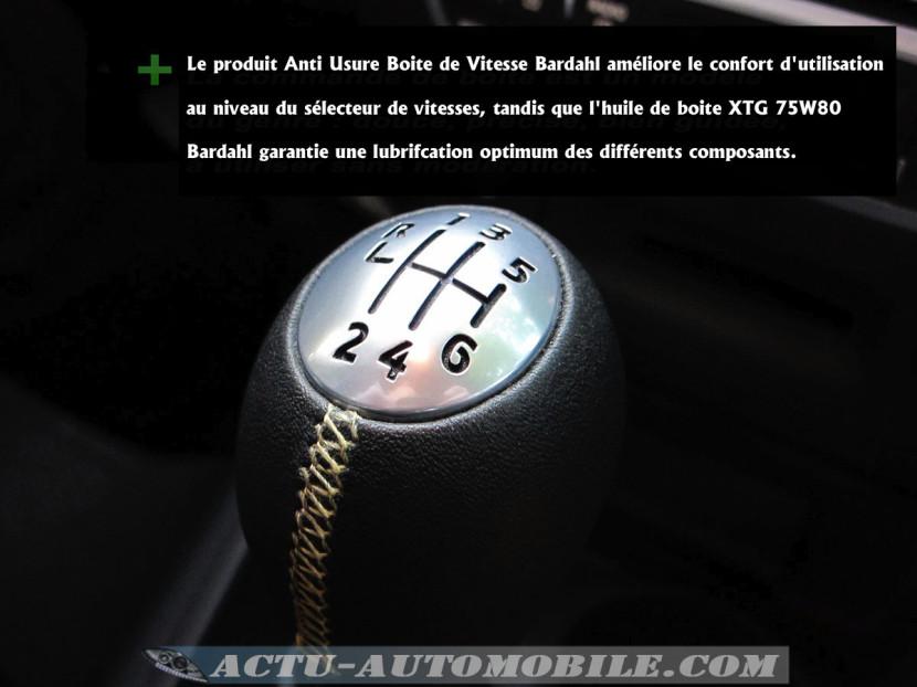 Anti usure boîte de vitesses Bardah