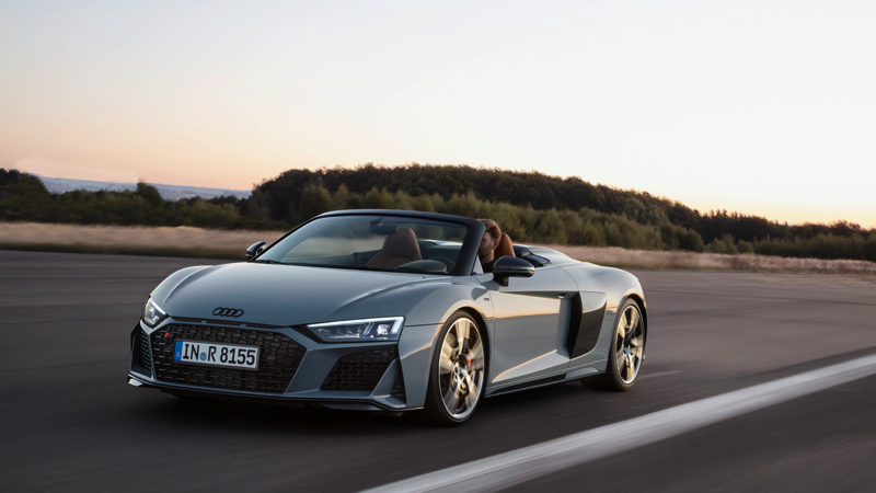 audi r8 coup et spyder facelift pour 2019. Black Bedroom Furniture Sets. Home Design Ideas