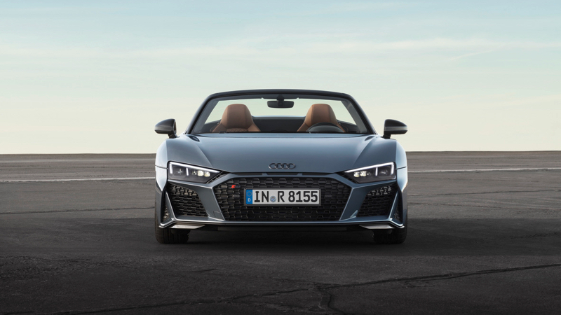 Audi R8 coupé et spyder : facelift pour 2019