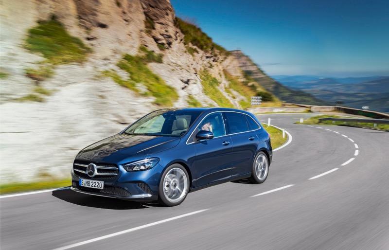 Nouvelle Mercedes Classe B
