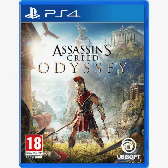 Test Assassin's Creed Odyssey sur PS4