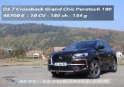 Essai DS 7 Crossback Puretech 180